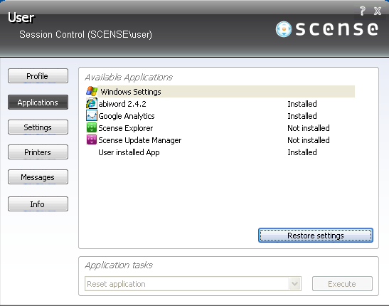 Scense 8 release notes.