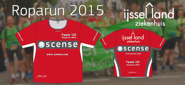 Appixoft supports IJsseland Hospital Roparun 2015 Team 131