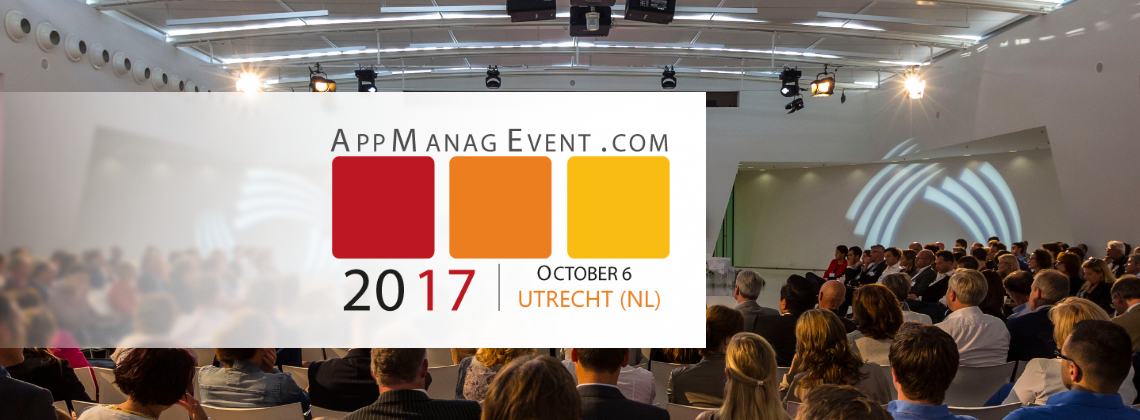 Come visit AppiXoft at the AppManagEvent 2017